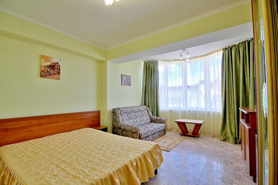 Стандарт двухместный без балкона отеля Вилла Алина