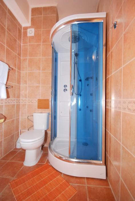 Туалетная комната в номере ПК отеля Вилла Анна
