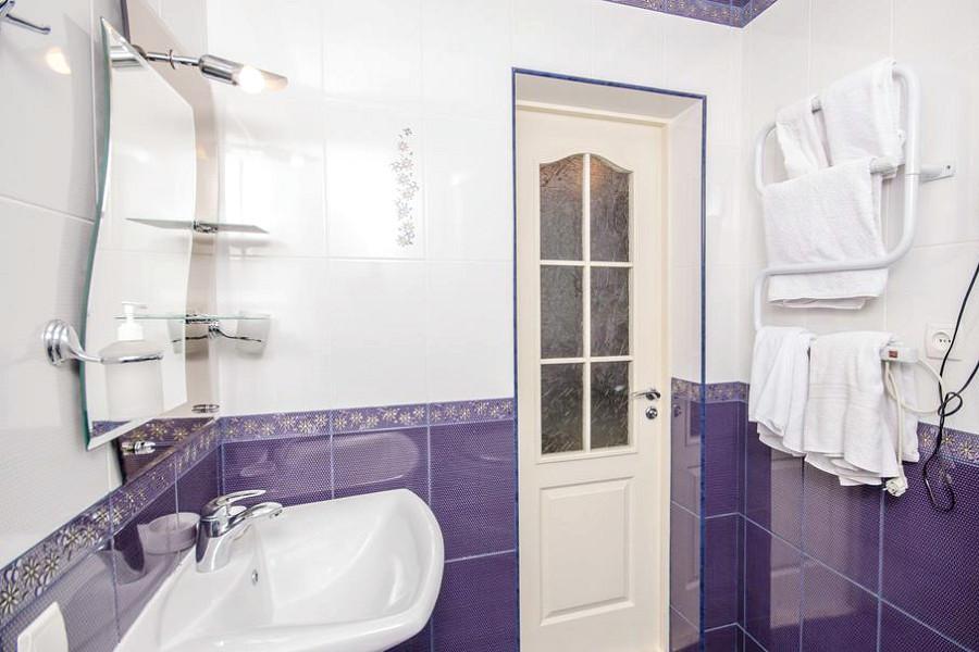 Туалетная комната номера Стандарт в гостевом доме Вилла Багратион