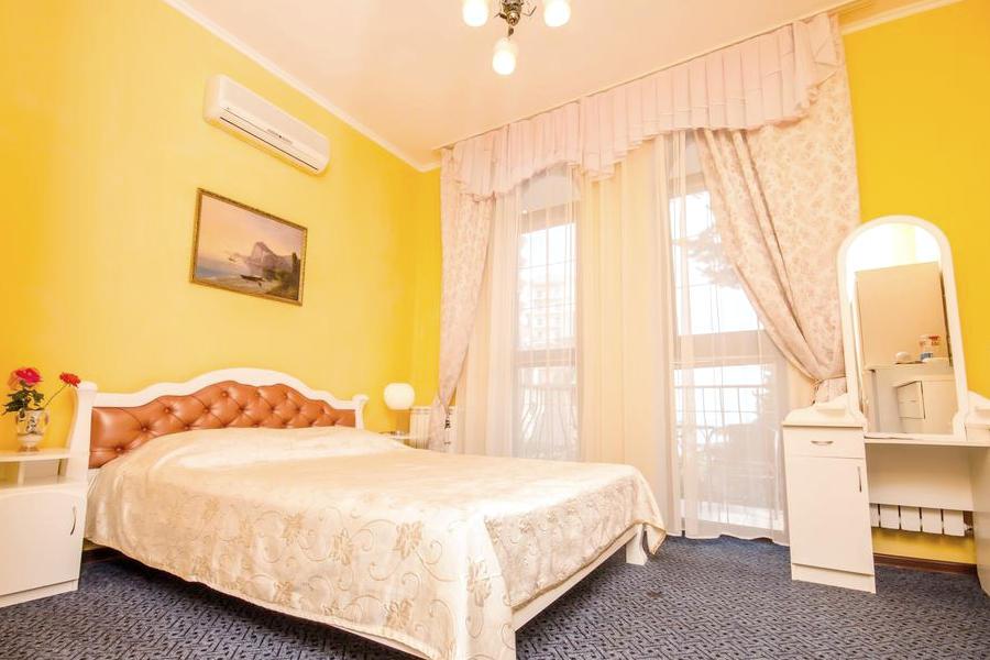 Улучшенный двухместный с видом на море в гостевом доме Вилла Багратион