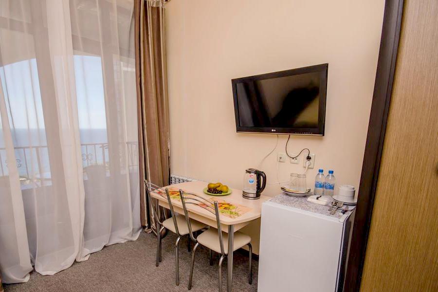 Полулюкс двухместный с видом на море в гостевом доме Вилла Багратион