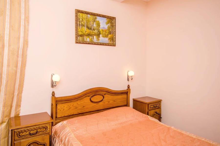 Люкс трехместный с видом на море в гостевом доме Вилла Багратион
