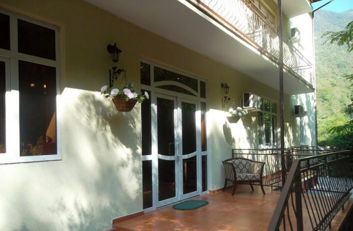 Гостиница Вилла Леона, Гагра, Абхазия