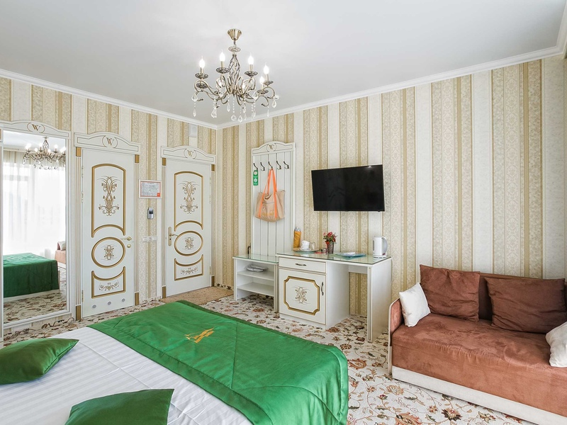 Комфорт VIP Улучшенный двухместный отеля Вилла Валентина
