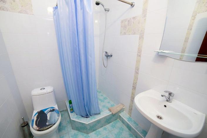 Туалетная комната Стандартного номера в пансионате Vityazevo Family