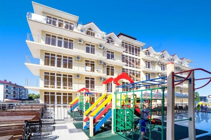 Детский игровой городок пансионата Vityazevo Family