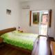Спальня номера Полулюкс двухместный двухкомнатный пансионата Водопад
