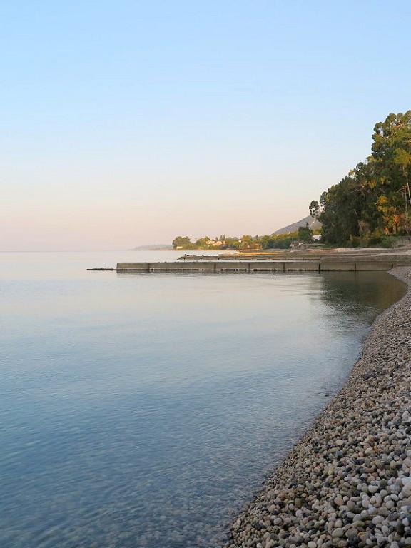 Пляж Нового Афона, Абхазия