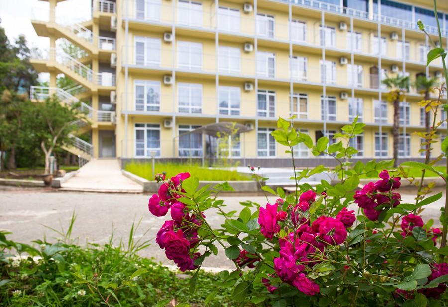 Территория Wellness Park Hotel Gagra