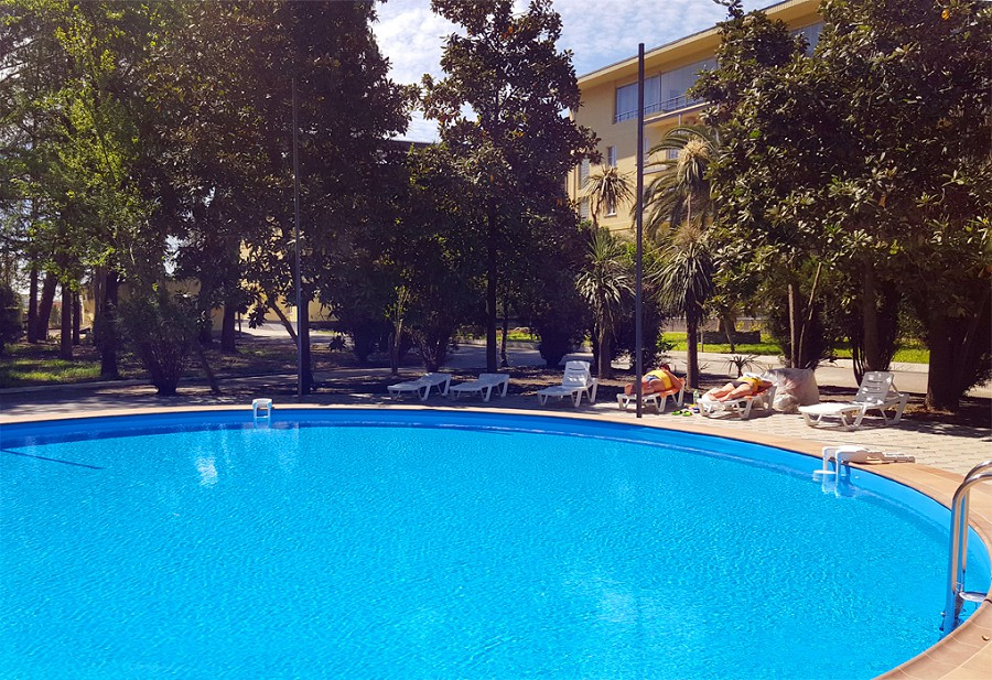 Бассейн Wellness Park Hotel Gagra