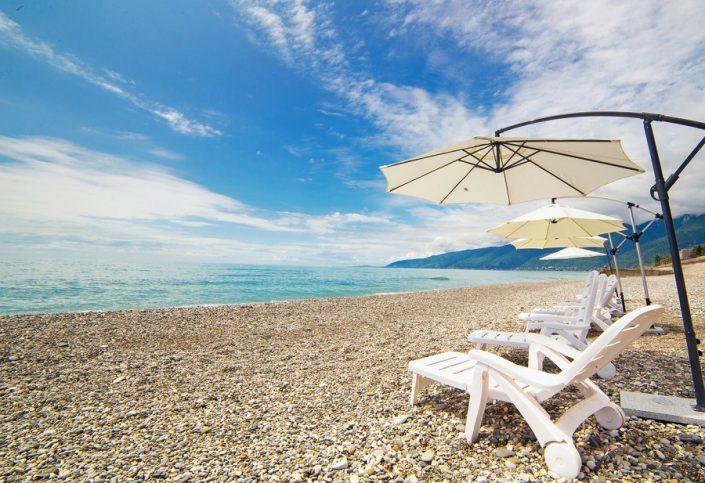 Пляж Wellness Park Hotel Gagra