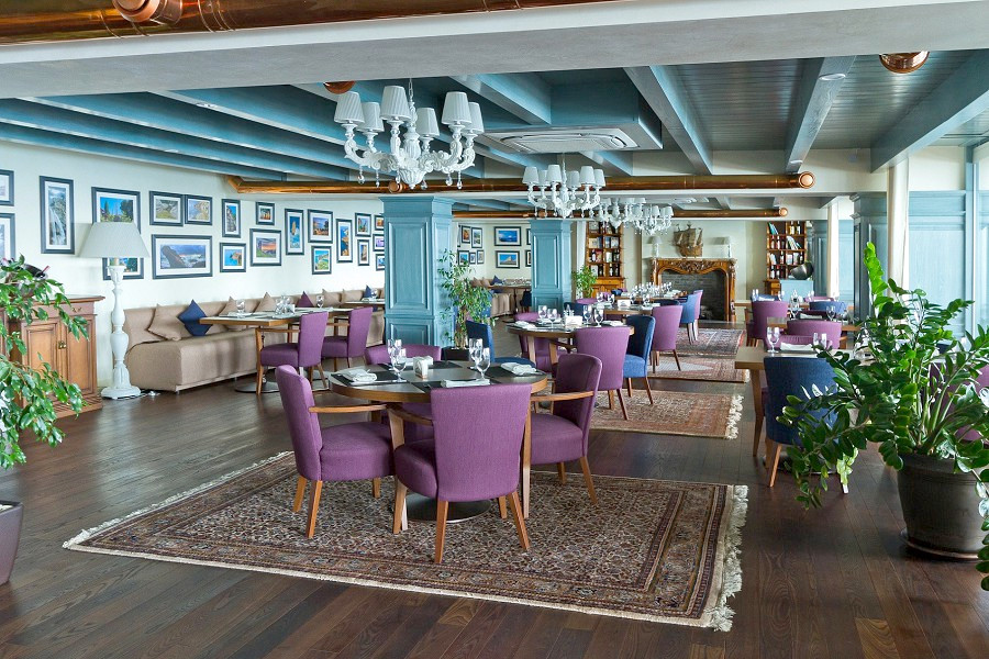 Ресторан Крым на территории отеля Ялта-Интурист
