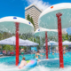 Детский бассейн на территории отеля Ялта-Интурист
