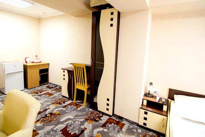 Улучшенный двухместный без балкона в Корпусе 1 санатория Юрмино