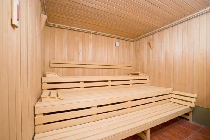 Сауна в спа-комплексе санатория Юрмино