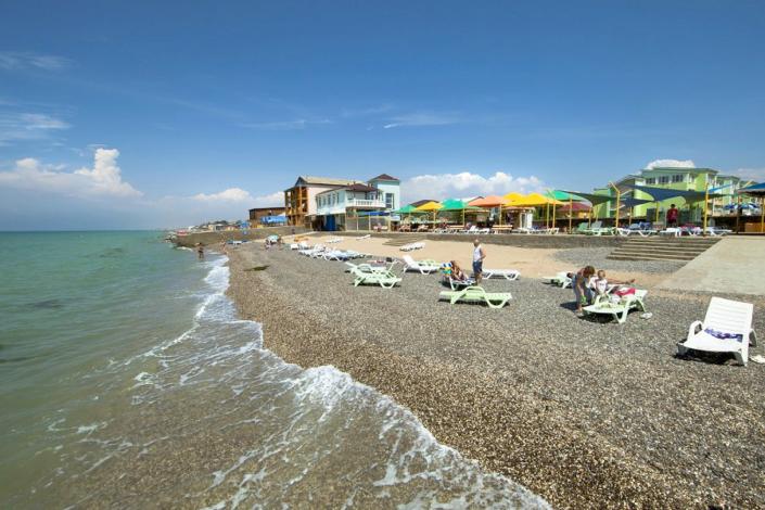 Пляж санатория Юрмино