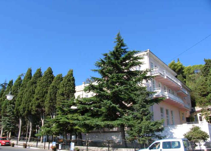 Корпус 3 гостиничного комплекса Юстас-Крым