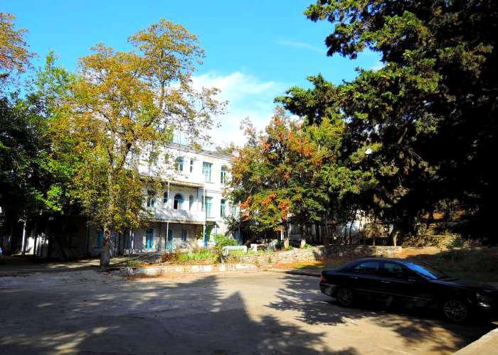 Корпус 4 гостиничного комплекса Юстас-Крым