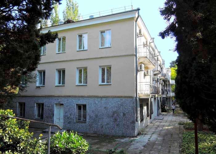 Корпус 5 гостиничного комплекса Юстас-Крым