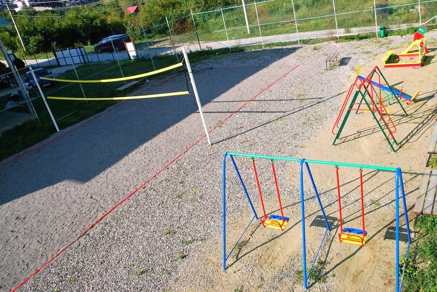 Детская игровая площадка пансионата Южная ночь
