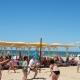 Пляж пансионата Южный парус