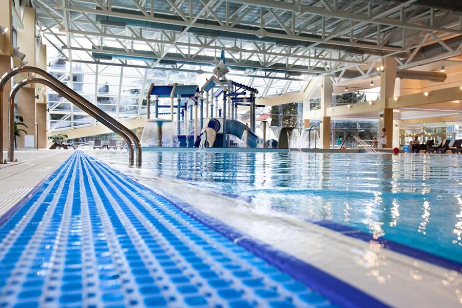 Крытый бассейн санатория Заполярье
