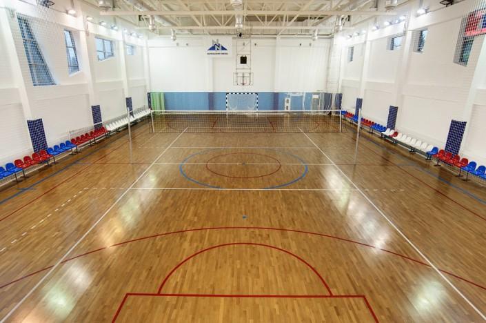 Спортивный зал санатория Заполярье