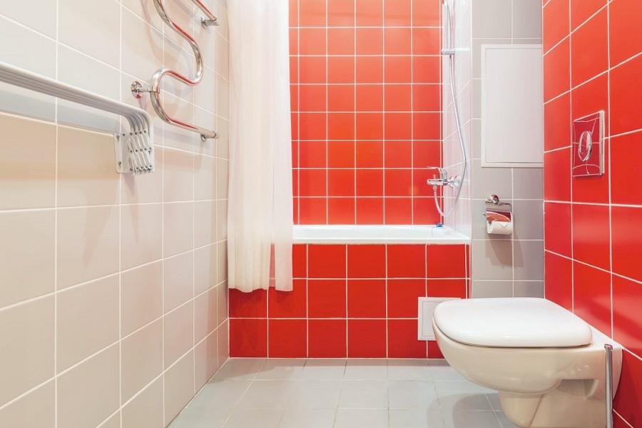 Туалетная комната Стандартного двухкомнатного номера санатория Заполярье