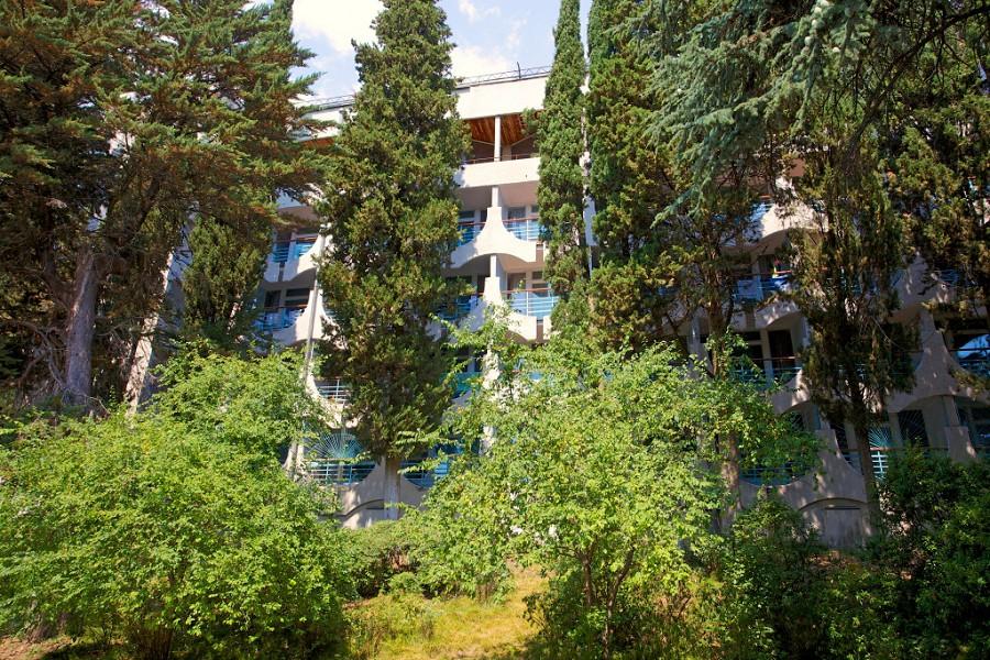 Санаторий Запорожье, Ялта, Крым