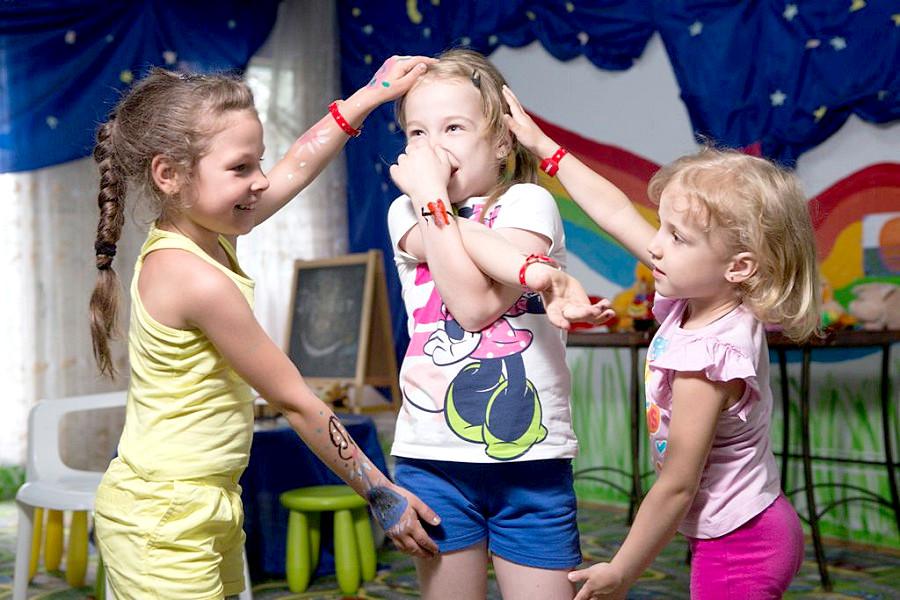 Детская игровая комната курортного комплекса Заря Анапы