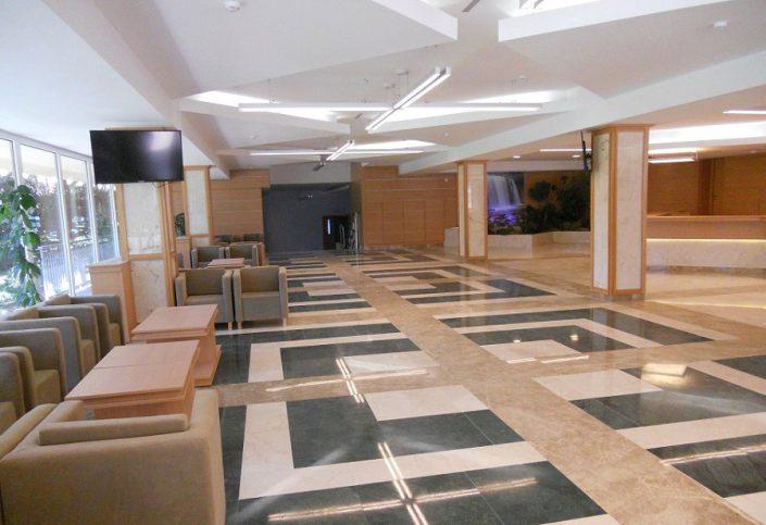 Холл санатория Зеленая роща, Сочи