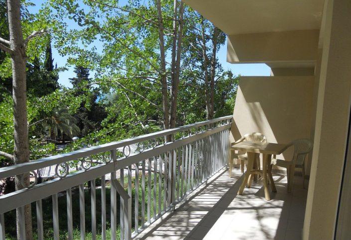 Балкон номера Студия санатория Зеленая роща, Сочи