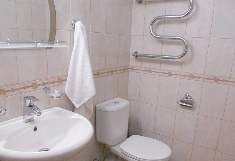 Туалетная комната номера Люкс санатория Зеленая роща, Сочи