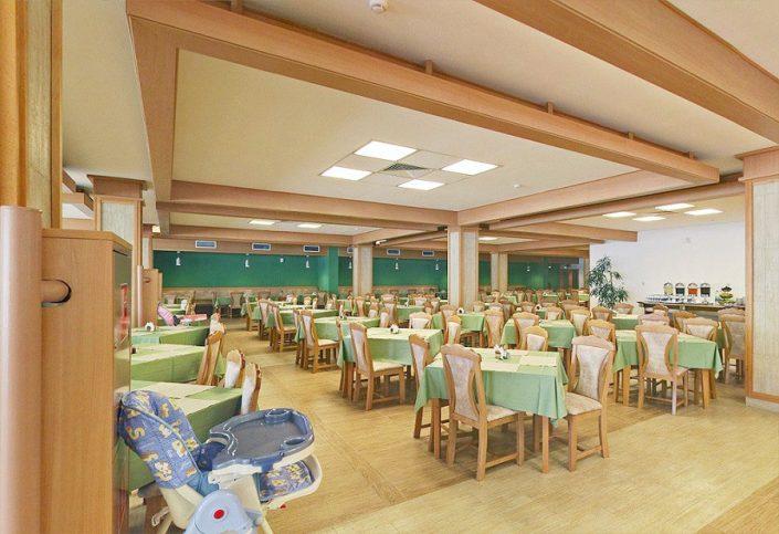 Ресторан санатория Зеленая роща, Сочи