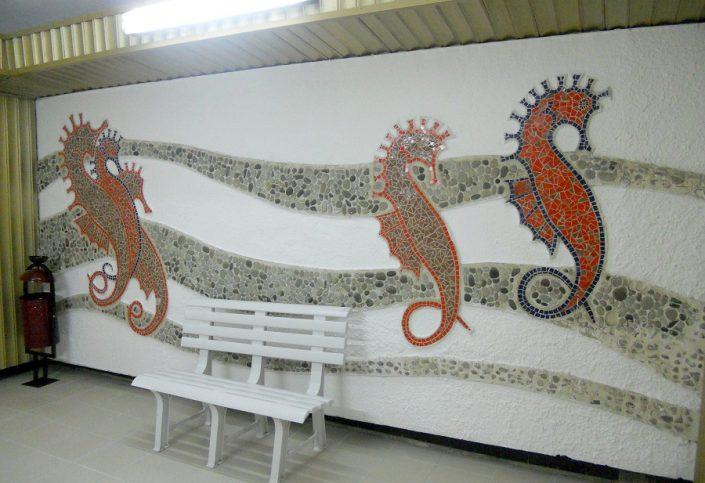 Путь от лифта к пляжному комплексу санатория Зеленая роща, Сочи