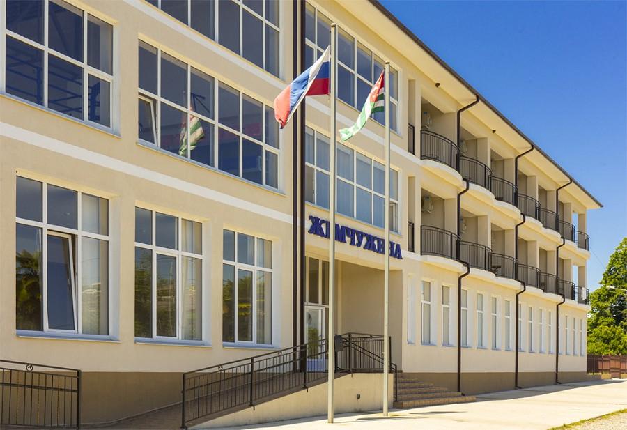 Спортивно-гостиничный комплекс Жемчужина, Очамчыра, Абхазия