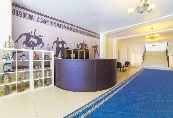 Служба приема и размещения гостей спортивно-гостиничного комплекса Жемчужина