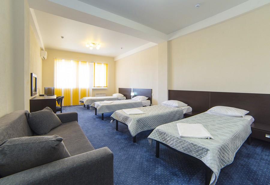 Стандарт четырехместный спортивно-гостиничного комплекса Жемчужина