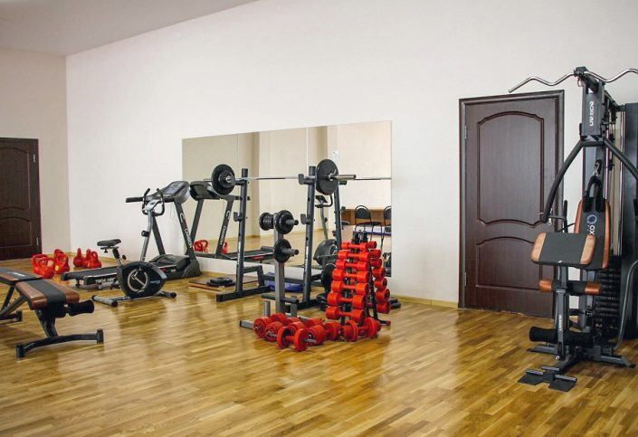 Тренажерный зал спорткомплекса Жемчужина