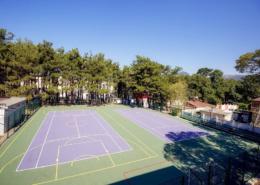 Спортплощадка и теннисный корт санатория Жемчужина моря