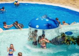 Детский бассейн на территории санатория Жемчужина моря