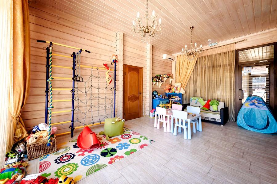 Детская комната отеля Журавли