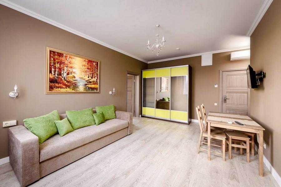 Люкс двухместный двухкомнатный, корпус Вилла отеля Журавли