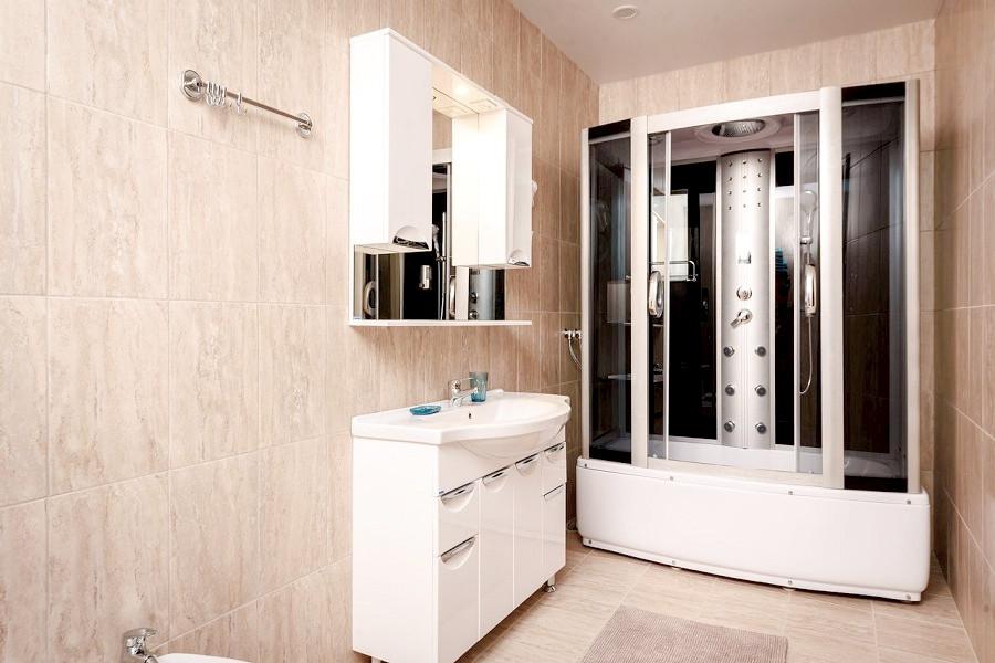 Туалетная комната номера Люкс, корпус Вилла отеля Журавли