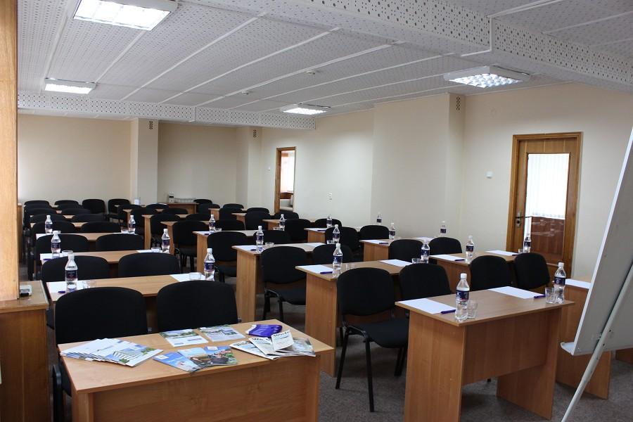 Аудитория на 50 чел. в санатории Знание