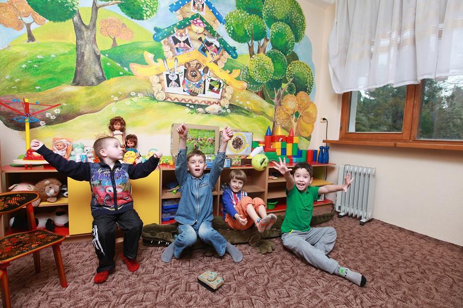 Детская игровая комната санатория Знание
