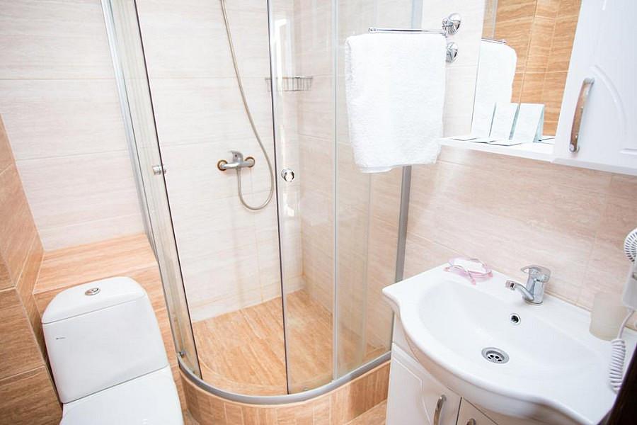 Туалетная комната Стандартного номера в гостевом доме Золотое руно