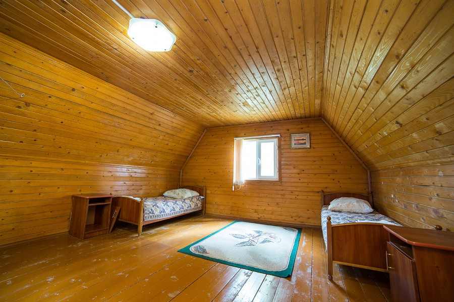 Обстановка в коттеджах базы отдыха Золотой берег Терло, Гудаута