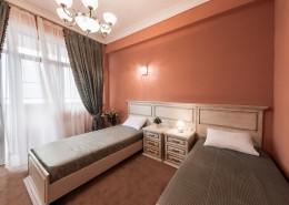 Номер Люкс с раздельными кроватями в санатории Золотой колос