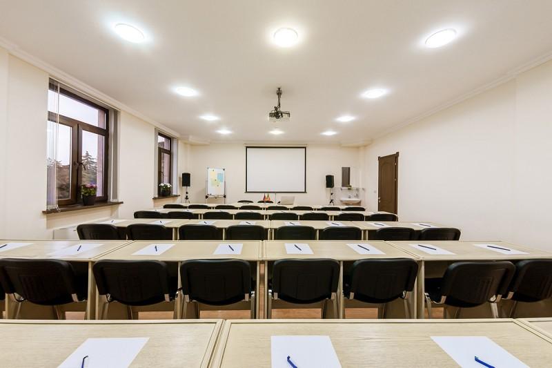 Малый конференц-зал в санатории Золотой колос